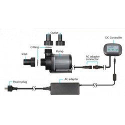 Aqua Excel DC Skimmer Pump DC-10000LV