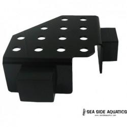 Black Magnet Corner Frag Rack