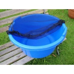 """31"""" Koi Tub / Bowl / Container Cover with Zipper"""