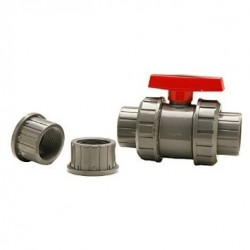 """3/4"""" Ball Valve With Unions"""
