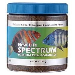 NLS Medium Fish Formula 250g - 2mm Sinking/salt/Fresh