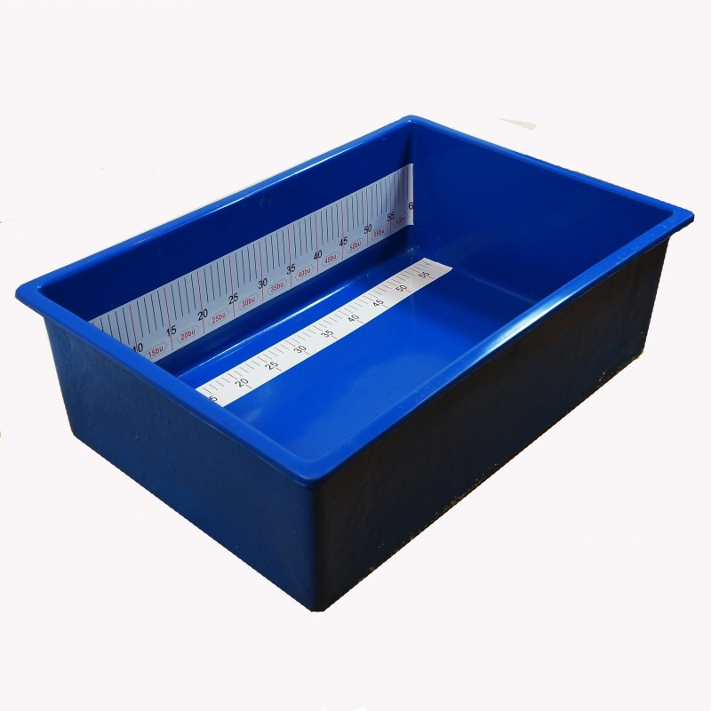 Small koi measuring tub for Koi pond tubs