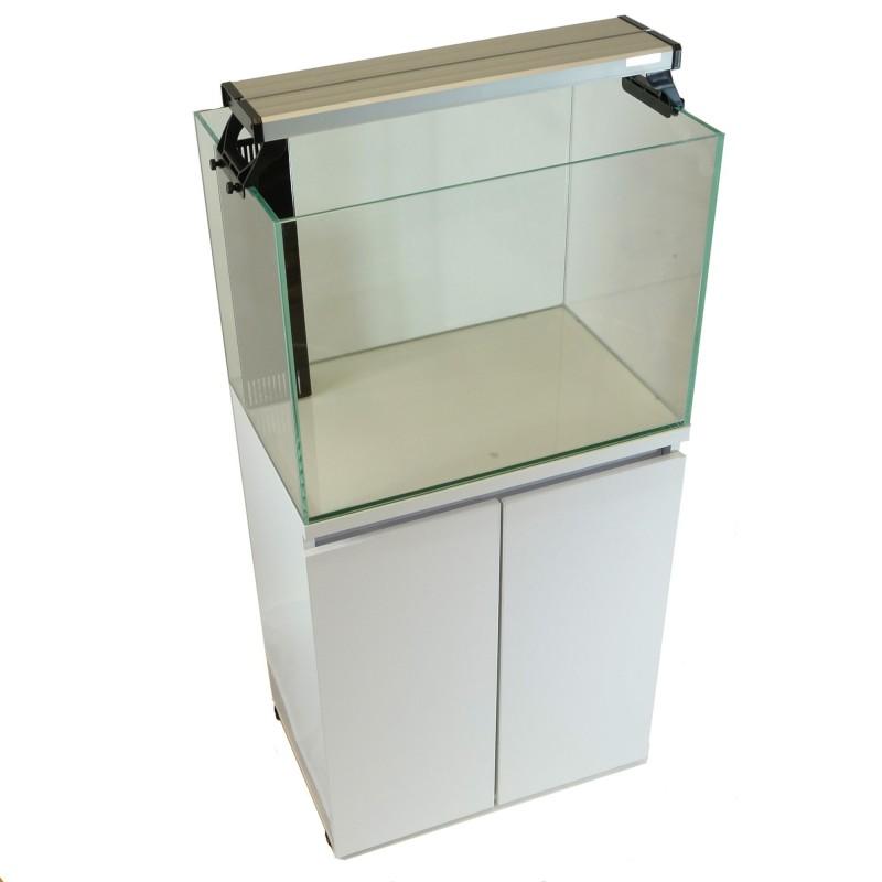 Aqua Japan 43gal Glass System White Color