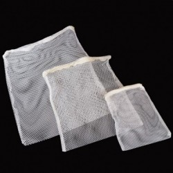 Your Choice Aquatics Large Media Mesh Bag, White Color