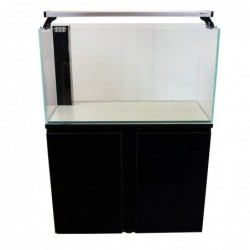 Aqua Japan 83gal Glass System White Color