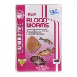 Hikari Frozen Bloodworms (4.0oz) Flat