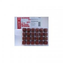 Hikari Frozen UVX Bloodworms (3.5oz)