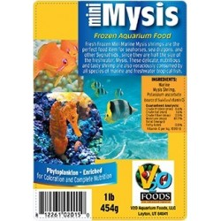 V2O Mini Marine Mysis Shrimp Frozen Blister Cubes 200g