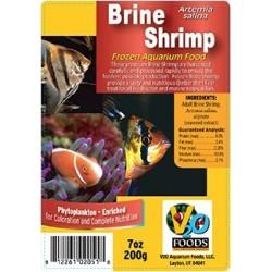 V2O Brine Shrimp Frozen Blister Cubes 200g