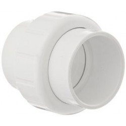 """2"""" PVC Union, White Slip"""