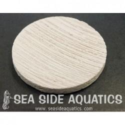 "1.75"" Ceramic Coral Frag Disc"