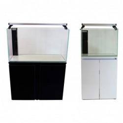 Aqua Japan 63gal Glass System White Color
